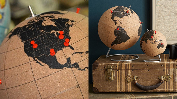 The best gifts for travelers 2019: Cork Globe