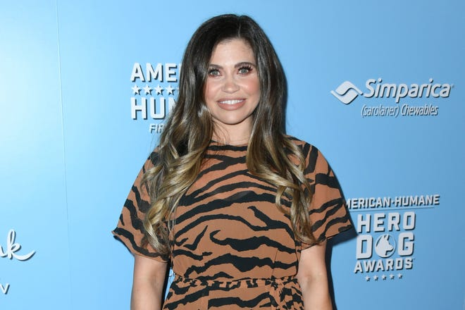 Danielle Fishel attends the 9th Annual American Humane Hero Dog Awards at The Beverly Hilton Hotel on October 05, 2019 in Beverly Hills, California.