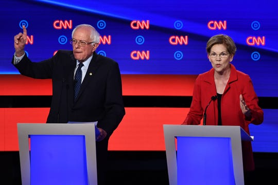 New Mexico residents are throwing their financial support in the race for U.S. president mainly behind progressive candidates Bernie Sanders and Elizabeth Warren, according to an analysis of individual contributions to campaign committees.