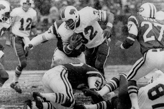 O.J. Simpson was named the AP's NFL MVP in 1973, was a five-time First Team All-Pro and a six-time Pro Bowler.