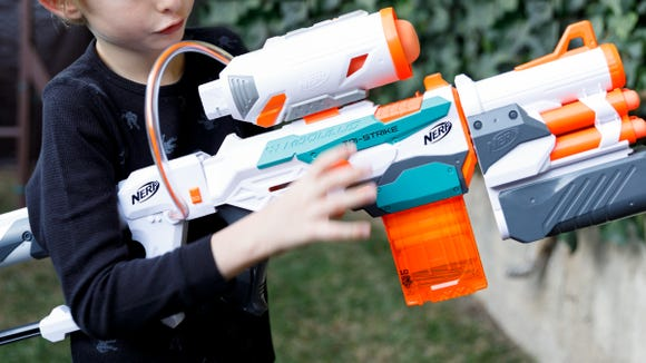 Gifts for Kids 2019: Nerf Gun Tri-Strike