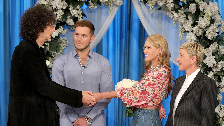 Howard Stern re-marries wife Beth Stern on 'Ellen' with help from Colton Underwood