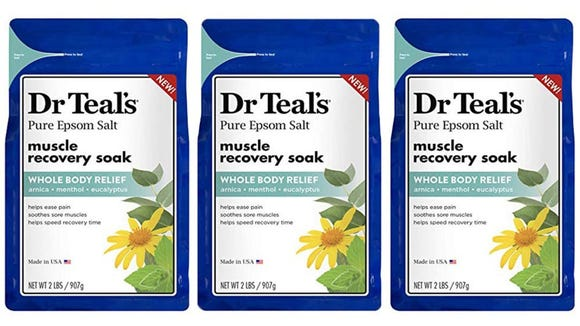 Best gifts for runners 2019: Dr. Teal's Epsom Salt Muscle Recovery Soak