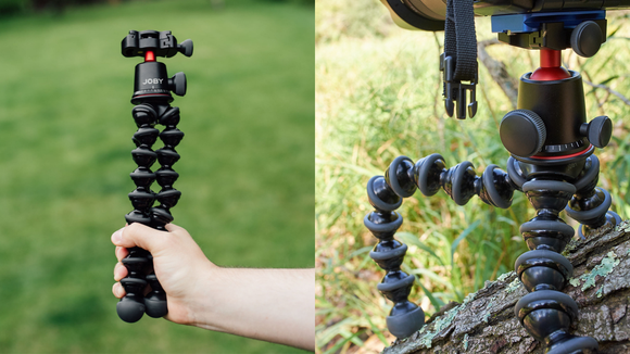 The best gifts for travelers 2019: JOBY Portable Tripod.