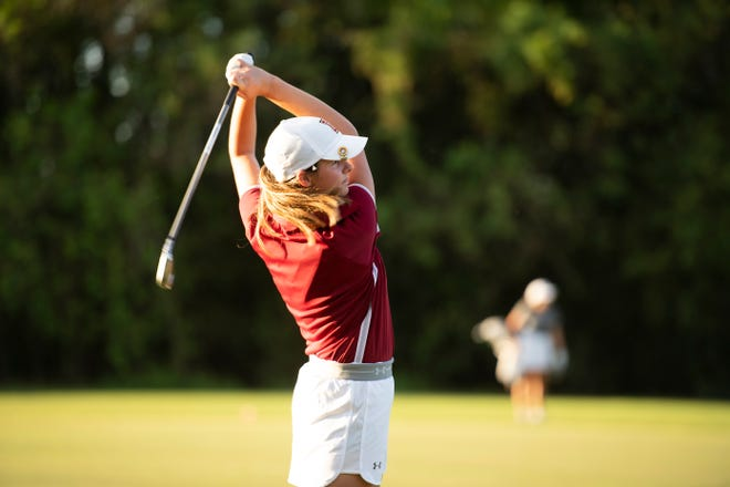 Former Menard and current Loyola of New Orleans golfer Madison Bates won her first collegiate tournament Oct. 8 at the Martin Methodist RedHawk Invitational.