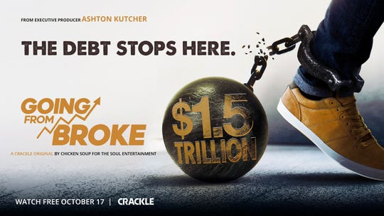 """Going From Broke"" premieres on Crackle on Oct. 17."