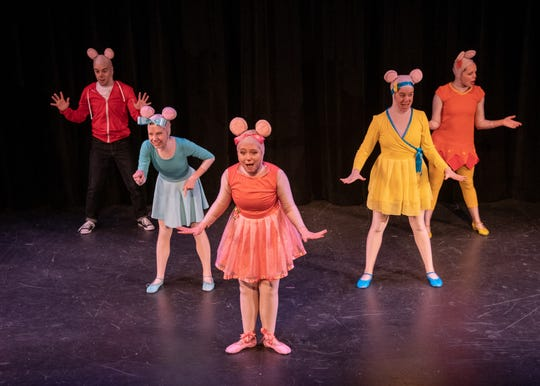 "The stage version of ""Angelina Ballerina""  comes to the Mayo Performing Arts Center in Morristown on Jan. 19, 2020."