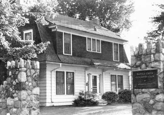 The house at 'One Country Club Drive' was the home to three generations of greenskeepers for the Battle Creek golf course and the subject of a new book.