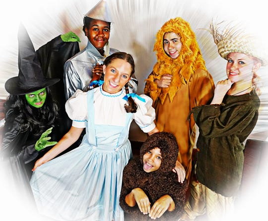 """Ti-TownTown TheatreInc. will present """"The Wizard of Oz Young Performers' Edition"""" at Sidney High School this weekend."""