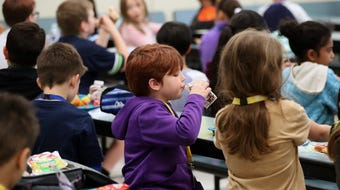 Crownhill Elementary School in Bremerton is one of several schools in Kitsap County that  schedules recess before lunch, a practice experts say gets kids to eat more and waste less food.