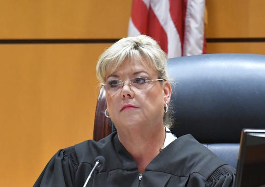 Judge Kelly Ingram presides as Eric Antosia, a Sebastian police officer, goes to trial. He was charged with animal cruelty after Diesel, his K-9 partner, was left in his police vehicle, and died from the heat. The trial is being held in the Viera courtroom.