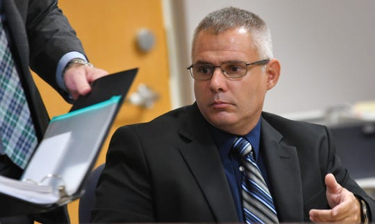 Eric Antosia, a Sebastian police officer, was charged with animal cruelty after Diesel, his K-9 partner, was left in his police vehicle, and died from the heat. The trial is being held in the Viera courtroom of Judge Kelly Ingram.