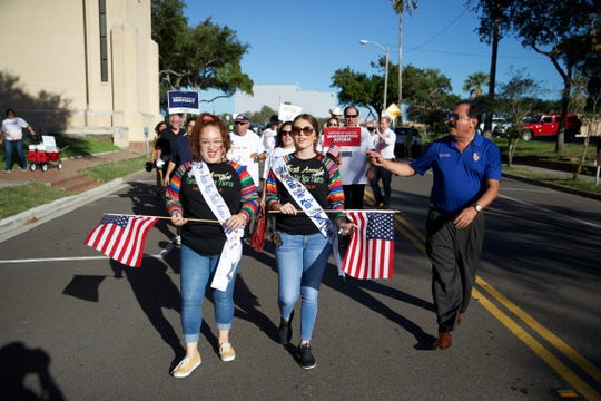 "Members of the League of United Latin American Citizens on Tuesday kicked off the ""Freedom Walks for Justice"" campaign in Corpus Christi."
