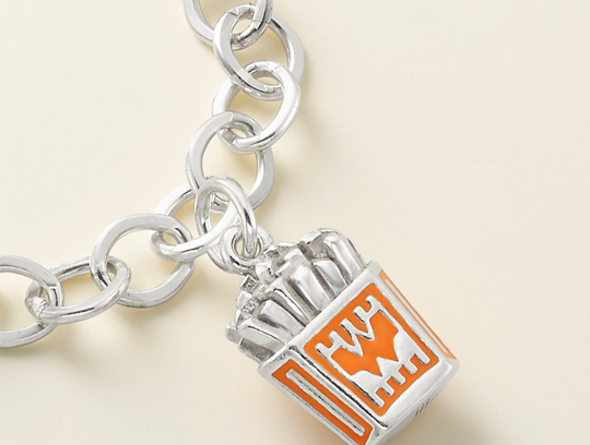 Whataburger and James Avery collaborated once again to launch a new sterling silver Whataburger French Fries charm. It costs $82.