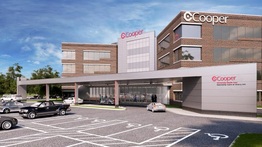 Cooper University Healthcare plans a spring 2020 opening for a specialty center on Route 70 in Cherry Hill.