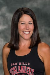 Oak Hills head girls cross country coach Shellie Hageman has twice been named the Greater Miami Conference Coach of the Year