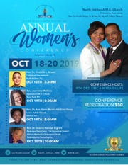 TheAnnual Women's Conference will be held from Friday, Oct. 18, through Sunday, Oct. 20, atNorth Stelton AME Church, 123 Craig Avenue in Piscataway.