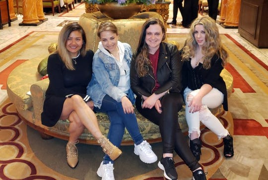 The creation of four best friends - Trinh Ho (left to right), Alexandra Isara, Liliana Kligman and Christina Figliolia - the first Hallmark Channel Christmas Con, complete with celebrity guests is set to land in Edison at the New Jersey Convention and Expo Center on Nov. 8, 9 and 10.