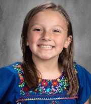 Jamie Ridenbaugh - The third-grader at Coshocton Elementary School is the daughter of Kyle and Leslie Ridenbaugh.