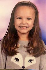 Jordynn Stickdorn - The first-grader at Keene Elementary School is the daughter of Mandi and Ryan Stickdorn.
