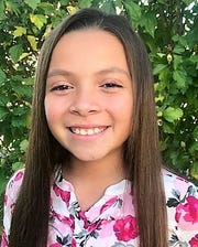 Eva Trejo - The fourth-grader at Coshocton Elementary School is the daughter of Jamie Trejo and Amy Trejo.