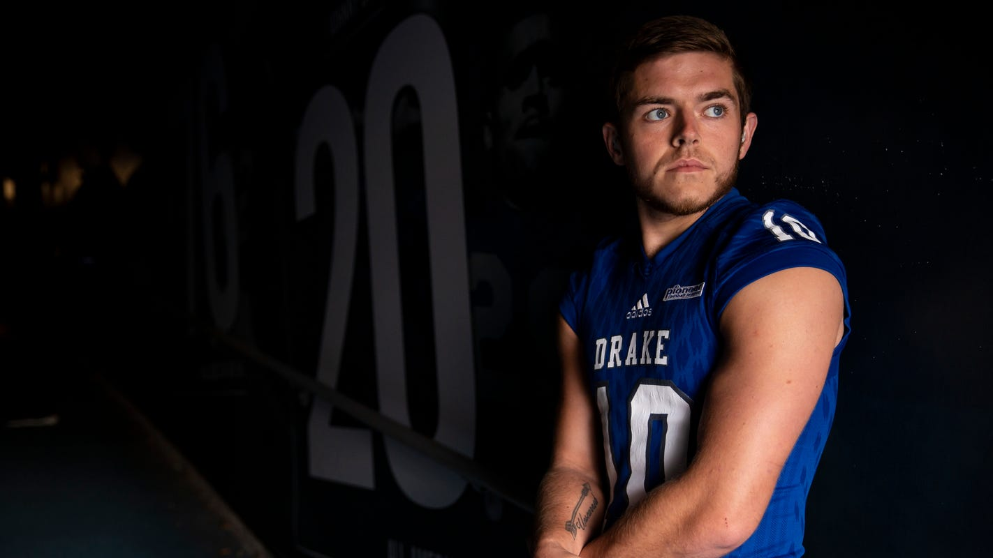 'My own world': Deaf Drake punter Ross Kennedy finding success in silence