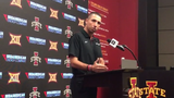 Matt Campbell almost gets emotional, talking about what Allen Lazard means to him and the Iowa State football culture.
