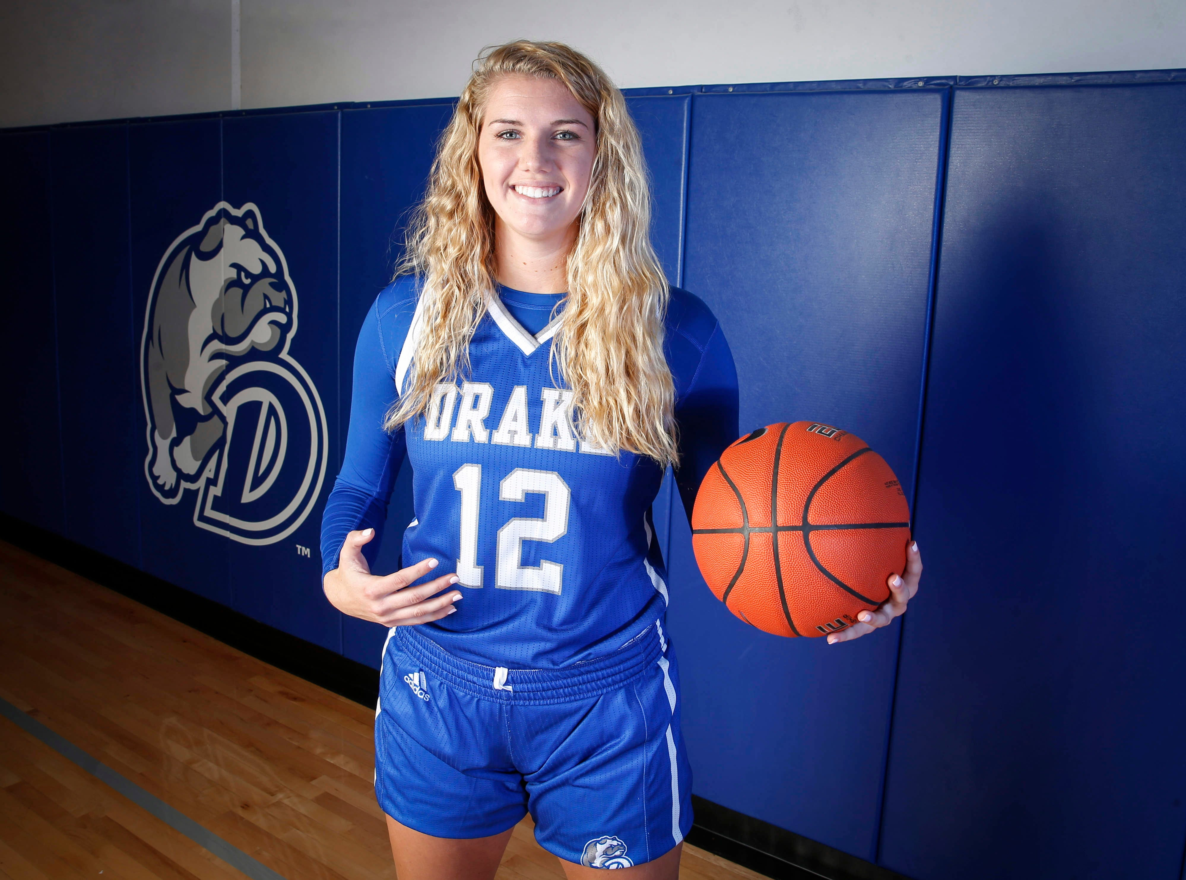 Photos: Meet the 2019-20 Drake Women's Basketball team