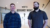 """Des Moines' 'Beggars' Night', the night before Halloween, is when children ring doorbells, say """"Trick or Treat"""", then tell a riddle or joke for candy."""