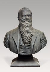Bust of Governor John J. Bagley by Carl Herman Weyner, 1889, bronze. Through Detroit Institute of Arts and City of Detroit.