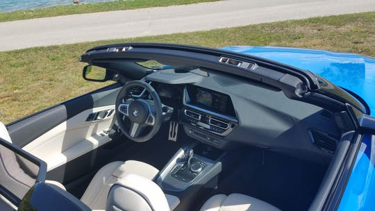 Loaded with digital wonders like keyless entry and sporting useful cargo room behind the seats, the 2020 BMW Z4 makes for a great getaway car for the summer/fall seasons.