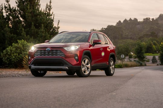 Toyota is following a similar hybrid strategy as Ford by offering its best-selling Toyota RAV4 with a competitively priced hybrid model.