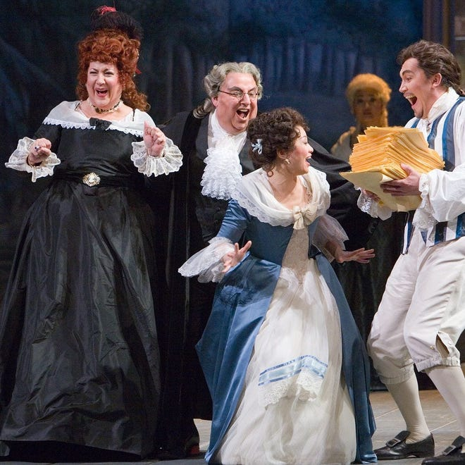 "Michigan Opera Theatre's ""The Marriage of Figaro."""""