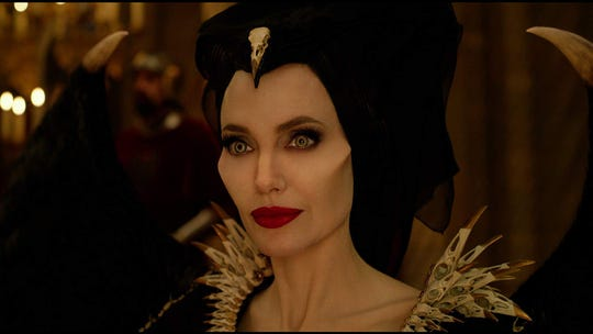 """Angelina Jolie in """"Maleficent: Mistress of Evil."""""""