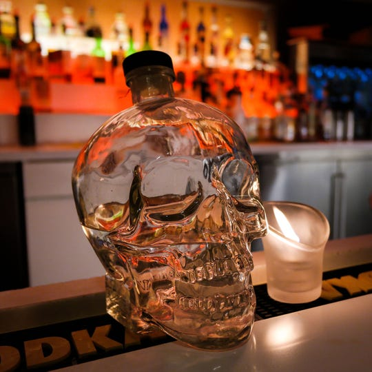 """Federal investigators describe a """"culture of alcohol"""" within the top ranks of the United Auto Workers. The union used member dues to buy premium alcohol while in California, including Crystal Head Vodka, which cost $175 per bottle. The brand was founded by Hollywood actor Dan Aykroyd."""