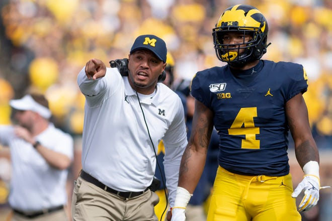 Josh Gattis, Nico Collins and Michigan travel to Penn State this week.
