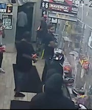 Detroit police are looking to identify the man in glasses.