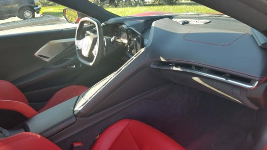 The interior of the 2020 Chevy Corvette C8 is nicer than European supercars costing four times as much.