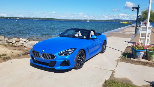 The 2020 BMW Z4 competes against the Porsche Boxster and starts at just over $50,000. Nimble like a cheaper Mazda Miata, the BMW has a lot more grunt.