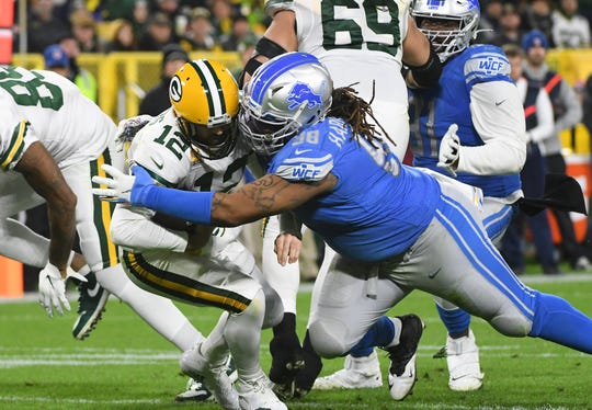 """It's been tough,"" says Lions defensive tackle Damon Harrison, reflecting on injury-riddled season."
