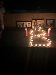 Vigil for Laren Hall