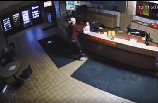 Peyton Nett, 19, of Fond du Lac, was identified on surveillenace video as the person who vandalized the La Crosse YMCA. He told police he had been drinking and doesn't remember what happened.