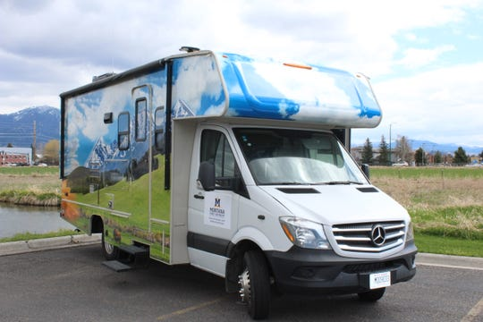 The Center for American Indian and Rural Health Equity at MSU recently introduced the Health Education and Research Bus, or HERB, a 25-foot RV customized as a mobile laboratory for health equity research and outreach in Montana's remote areas.