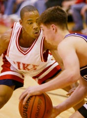 Sydney McDaniel, left, played for Pike High and was on teams that won two 4A state titles.