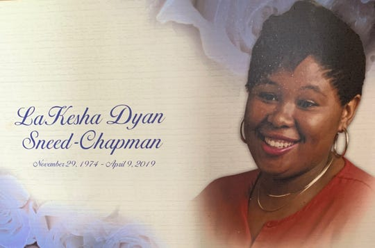 LaKesha Sneed Chapman died in August. In October, her caregivers were notified a blood transfusion she received in February could have been infected.