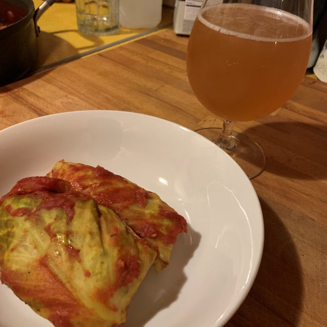 Chef Anne shares her recipe for bright, savory cabbage rolls.