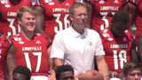 Scott Satterfield has Louisville football on the right track. Dominique Yates feels he's in the discussion for ACC Coach of the Year.