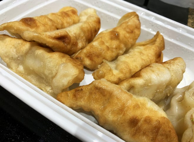 Fried dumplings from Jackie's Chinese Restaurant, Marco Island.