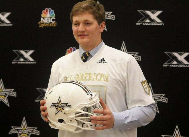 One of the Badgers' top recruits, Trey Wedig of Kettle Moraine, was selected to play in the Army All-American Bowl on Jan. 2.