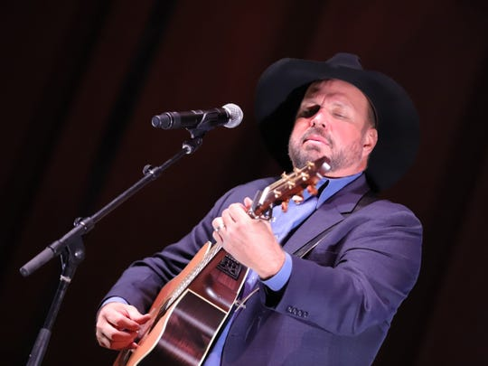Garth Brooks performs at the 2019 Nashville Songwriters Hall of Fame Induction Ceremony.